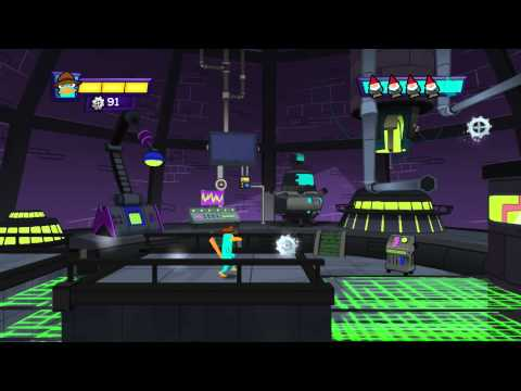 Видео № 1 из игры Phineas and Ferb: Quest for Cool Stuff [Wii U]