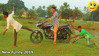 Indian New funny Video😄-😅Hindi Comedy Videos 2019-Episode-22--Indian Fun || Bindas Duniya