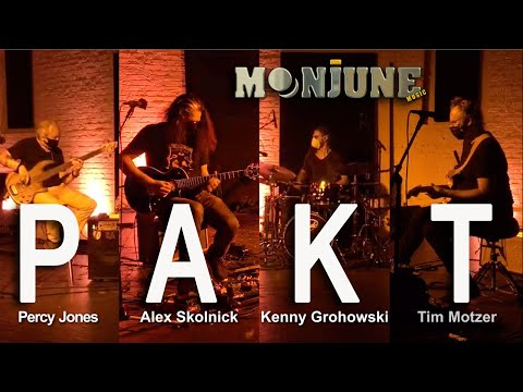 PAKT feat. Percy Jones, Alex Skolnick, Kenny Grohowski, Tim Motzer online metal music video by PAKT