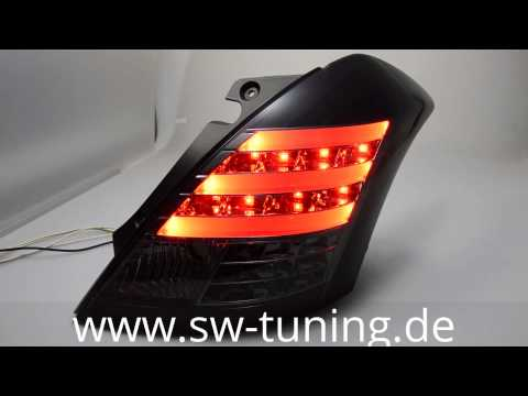 LED Rückleuchten SWCelis Suzuki Swift FZ NZ Black/smoke SW-Tuning