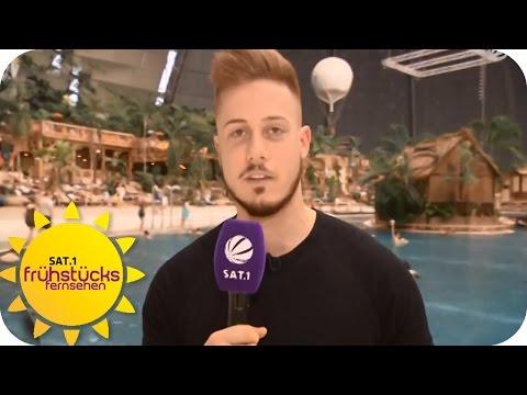 Dominiks Freitags-Challenge: Badekappe | SAT.1 Frühstücksfernsehen