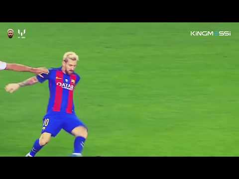 Lionel Messi Best Body Feint Plays 2016 2017