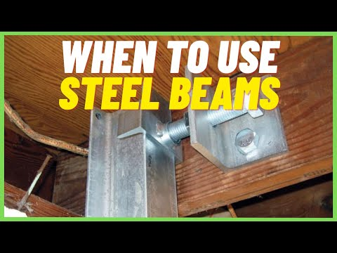 🐊Steel Beams (Power Braces)- When should you use them? | Foundation Repair