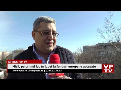 Mizil, pe primul loc în județ la fonduri europene accesate