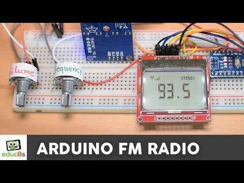 Arduino FM Radio Project with TEA5767 from Banggood.com ✅