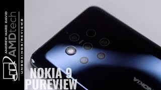 Nokia 9 PureView Unboxing & Hands-On Review: The Insane 5-Camera Smartphone