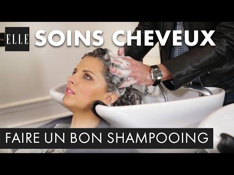Comment faire un bon shampoing | ELLE Coiffure