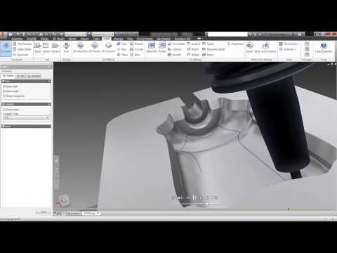 Inventor HSM Pro 2015: Die integrierte Lösung für die 5 Achsen Bearbeitungsplanung mit Autodesk Inventor