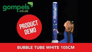 Product Demo - Bubble Tube White 105cm