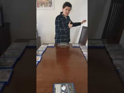 Watch video Keeping fit and healthy at home: Table cricket