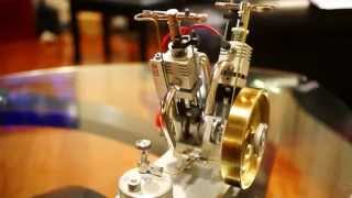 Maier V-Twin 'Hit and Miss' LPG Engine