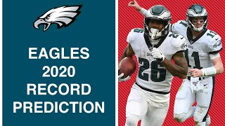 CAN THE EAGLES GO ALL THE WAY?! | 2020 RECORD PREDICTION