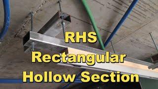 פתרון בעיות בעבודות גבס באמצעות קונסטרוקציות מתכתיות RHS.