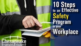 10 Steps to Creating an Effective Safety Program in Your Workplace