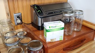 Review Of A FoodSaver Wide Mouth Jar Sealer