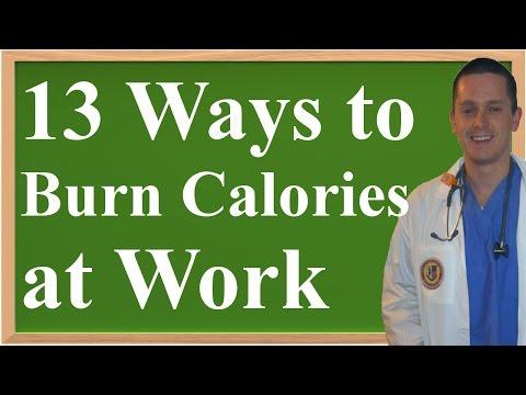 13 Ways to Burn Extra Calories At Work