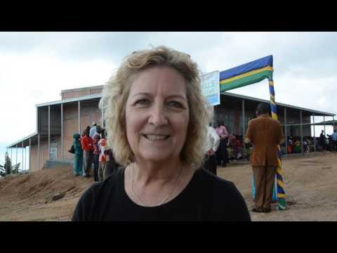 Pam interview with Rwanda Television journalist