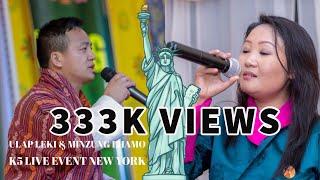Ulap Leki & Minzung Lhamo || Bhutanese || K5 Live Event New York || 2018 HD