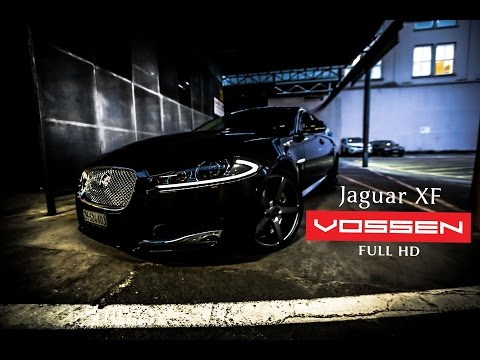 Jaguar XF on 20'' Vossen VVS-CV3 Concave Wheels / Rims | Young Wazy