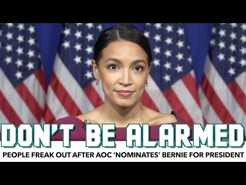 People Freak Out After AOC 'Nominates' Bernie For President