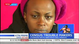 Census trouble makers arraigned in court