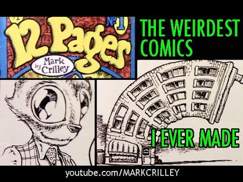 12 PAGES: The Weirdest Comics I Ever Made