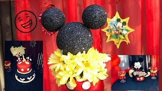 Mickey Mouse Party Decorations Dollar Tree