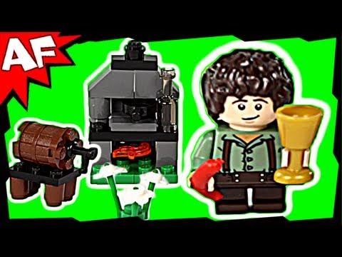 Vidéo LEGO Le Seigneur des Anneaux 30210 : Frodo dans son coin cuisine