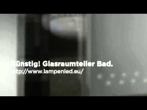 Glasraumteiler Bad