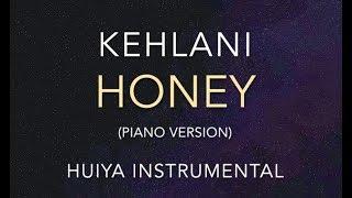 [Instrumentalkaraoke] Kehlani   Honey (piano Ver.) [+Lyrics]