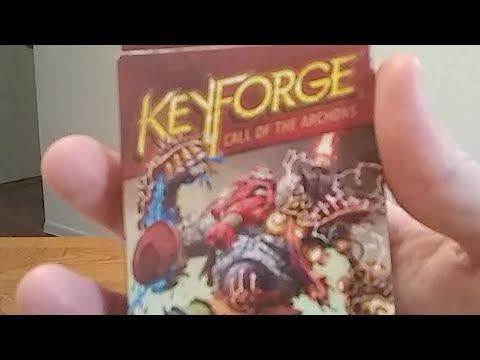 First Thoughts on Keyforge