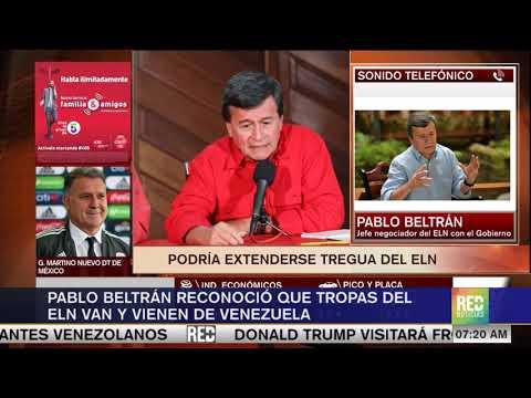 RED+ | Pablo Beltran reconocio que hay division en ELN en torno a seguir negociando