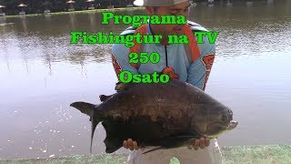 Programa Fishingtur na Tv 250 - Pesqueiro Osato