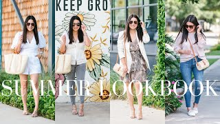 SUMMER LOOKBOOK - Cute And Casual Summer Outfit Ideas | LuxMommy