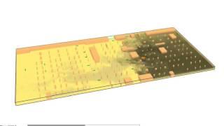 Underground Car Park Basement jet Fan CFD Analysis
