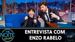 Entrevista Com Enzo Rabelo  | The Noite (240719)