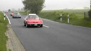 preview picture of video 'Opel GT Auftaktfahrt Weserbergland 2009 Teil 1'