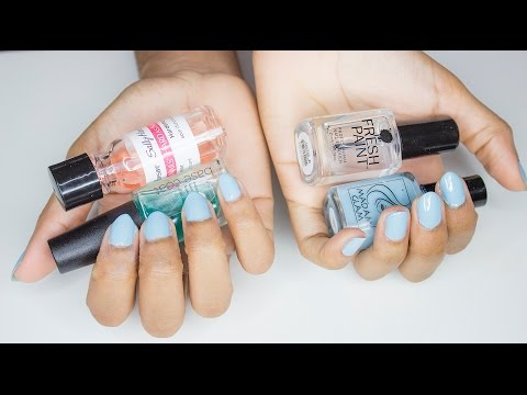 Video Life After Acrylics: Nail Care Tips + How I Paint My Nails   VICKYLOGAN