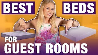 Best Mattress For Guest Room & Spare Bedroom (TOP 6 BEDS!)