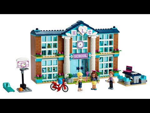 ИНСТРУКЦИЯ Lego friends Школа Хартлейк Сити