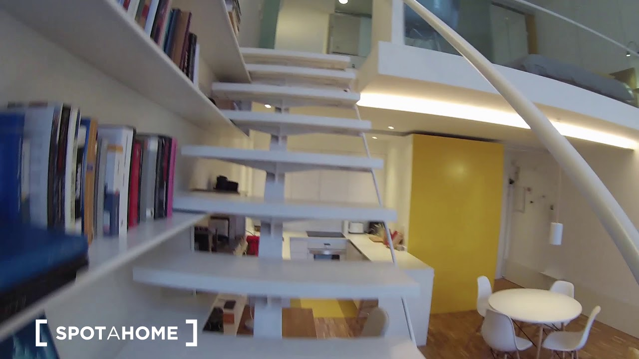 Loft apartment for rent in Fuencarral, north of Madrid city centre