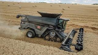 NEW Massey Ferguson IDEAL 8T tracks + PowerFlow 10,5m