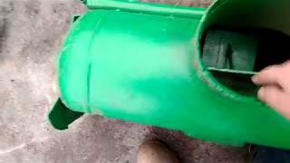 Обзор самодельного шнекового снегоуборщика видео