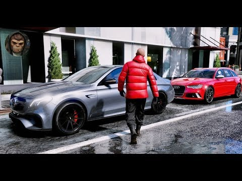 GTA 6   NEW ULTRA REALISTIC GRAPHICS Cars Gameplay   GTA V PC MOD 60FPS