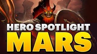 Dota 2 Hero Spotlight - Mars