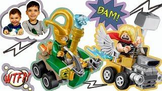 Распаковка Лего 76091 Супергерои Тор и Локи  #Lego Marvel Thor Loki Super Heroes Marvel Comics #Лего