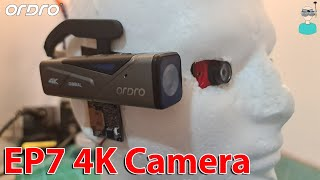 Ordro EP7 - Head Mounted 4K 2 Axis Gimbal Camera Review