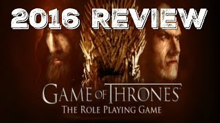 Game of Thrones the RPG Game  Review 2016