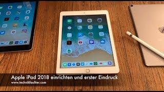Apple iPad 2018 einrichten und erster Eindruck - dooclip.me