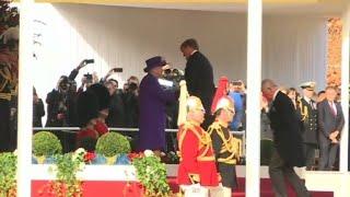 Londres: visite de la famille royale néerlandaise